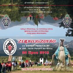 Olcza-Zaproszenie
