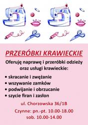 krawcowa Plakat A3