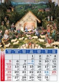 Borki Wielkie 2021, grudzień - kalendarz