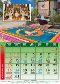 Borki Wielkie 2021, maj - kalendarz