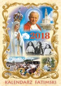Fatima 2018 - kalendarz