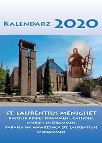 Norwegia 2020 - kalendarz