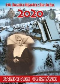 Zakopane-Olcza 2020 - kalendarz