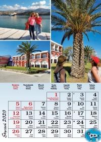 Grecja 2020, styczeń - kalendarz