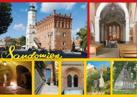 Sandomierz - kartka