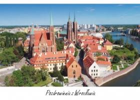 Wrocław - kartka DL