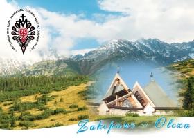 Zakopane-Olcza - kartka