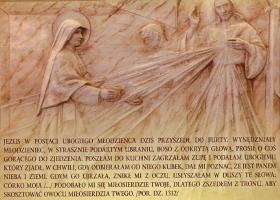 Kraków Łagiewniki - kartka