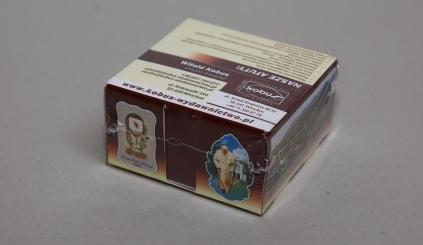 Pudełko firmowe z karteczkami Kobus