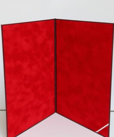 Sztywna teczka z tłoczeniem, wymiar. Środek wyłożony materiałem typu flock. (1) poprawione