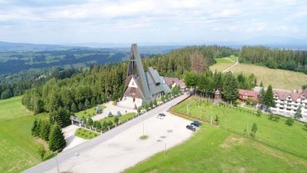 Bachledówka. Sanktuarium Matki Bożej Jasnogórskiej.
