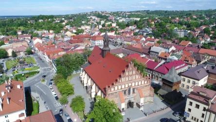Bochnia. Bazylika św. Mikołaja w Bochni.