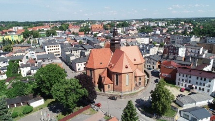 Kościerzyna. Kościół Świętej Trójcy