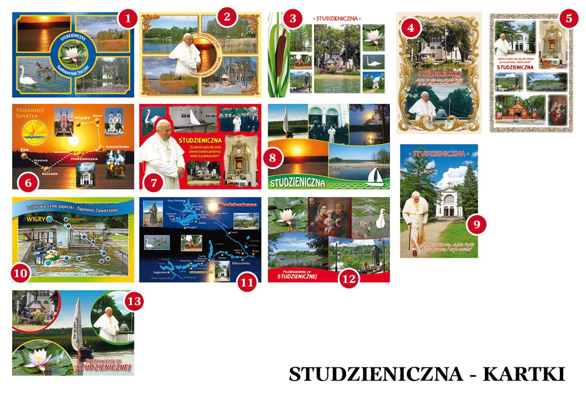 Studzieniczna - podgląd kartek i obrazków